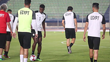 Egypt: Home squad trains for Africa Cup of Nations match against Congo