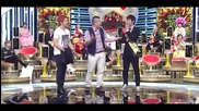[2011.6.14] Yunho vs junho_dance battle@strong heart_