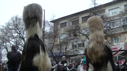 Кукерски фестивал 10.01.2016 Благоевград-с.падеш
