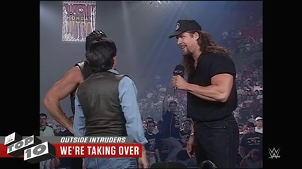 Outside Intruders - Wwe Top 10, May 23, 2015