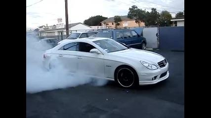 Mercedes Cls63 Burnout