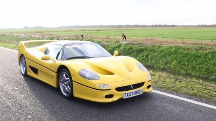 Малко забавление с Ferrari F50