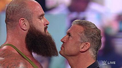Braun Strowman demands an apology from Shane McMahon: Raw, Mar. 8, 2021