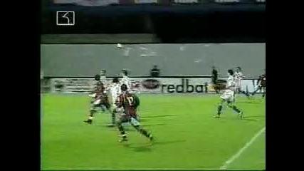 Berbatov goal against Croatia