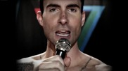Превод ! Maroon 5 Ft. Christina Aguilera - Moves Like Jagger [ Offical Music Video ]