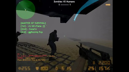 Counter Strike 1.6 Zombie Escape