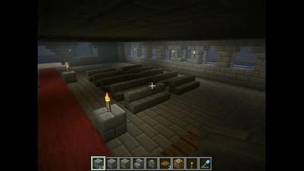 Minecraft : Крепост на creative