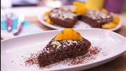 Goodlife: Шоколадов кейк с бадеми и портокал