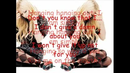 Avril Lavigne - I dont give a damn