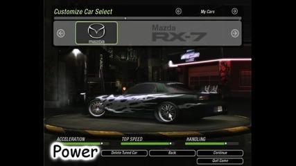 Nfs Underground 2 - Tuning Cars