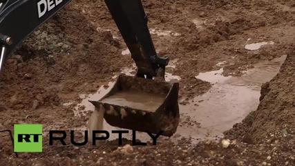 """Поправянето на дупката """"Де Майо"""" в САЩ ще струва над 500 хиляди долара"""