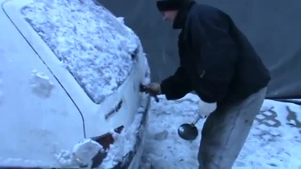 Как се размразява кола по полски