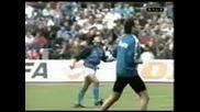 Maradona Загрява Преди Мач