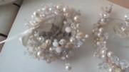 Комплект диадема, гривна, обици и пръстен- Gold Shine от Absoluterose.com