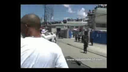 Роналдиньо В Хаити