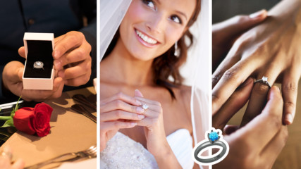 По формата му ще разберете: Какво издава годежният пръстен за вас и връзката ви?