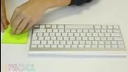 Как лесно да почистите клавиатурата си