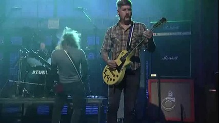 Mastodon - Curl of the Burl Hd (live Letterman)