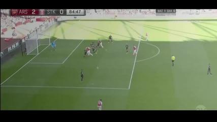 Арсенал 2-0 Стоук Сити (12-09-2015)