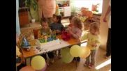 Рожденния ден на Владислава от група Слънчице!