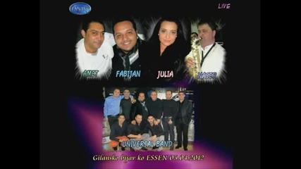 2.fabijan - Julia Bikova - Naser Gilane - Universal Band - 2012 By.dj kiro