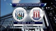 Уест Бромич - Стоук Сити 2:1, Висша лига, 20-и кръг