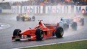 Защо бе дадена победата на Шумахер в Гран при на Великобритания 1998