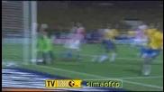 11.06 Бразилия - Парагвай 2:1 Робиньо гол
