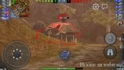 World of tanks Blitz - Mastery Badge със съветският танк Ис