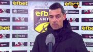 Томаш: Не ме интересуват теренът, топката и съдията, най-важни бяха трите точки