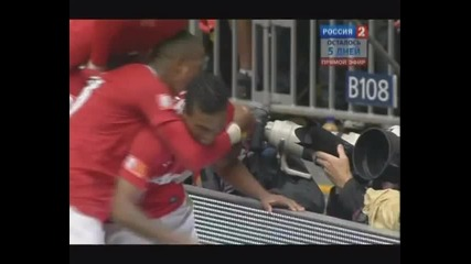 Манчестер Сити - Манчестер Юнайтед 23. Гол Нани 90