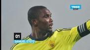Най-добре платените футболисти за 2012г.