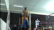 Тренировка на Roy Jones Jr