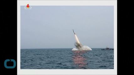 N. Korea Successfully Fired Underwater Ballistic Missile