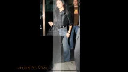 Nicole Scherzinger - Leaving Mr. Chow