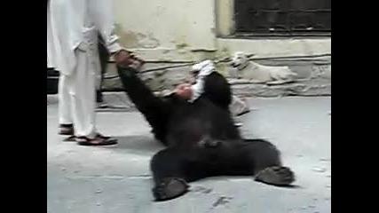 Дете срещу мечка