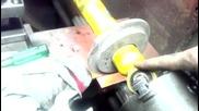 Penkiller.com Diy Форум 1/3 разглобяване амортесьор Билщайн - разглобяване на хидравличното бутало