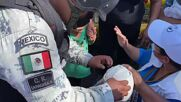 Mexico: Thousands of migrants overrun police roadblock in southern Mexico