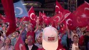Turkey: Gulen effigies set alight during pro-Erdogan rally