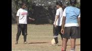 Южна Африка - Футболна школа за девойките в Мумбай