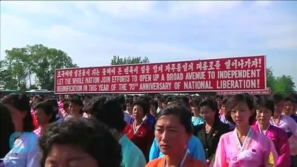 International Women Activists Walk Across Koreas' DMZ