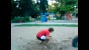 Vasko - first back flip