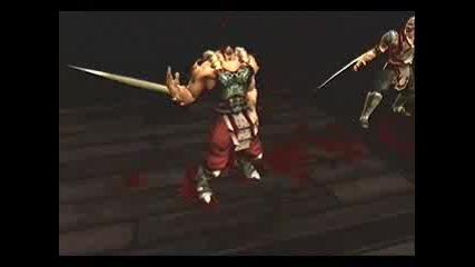 Baraka's Hara - Kiri Mortal Kombat