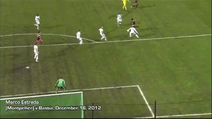 Най - добрите 101 гола за сезон 2012-13