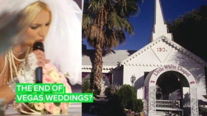 The infamous Britney Vegas wedding chapel is up for sale
