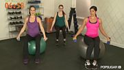 10-minute Arm Workout Safe for Pregnancy Class Fitsugar