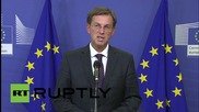 Belgium: Refugee crisis could lead to EU collapse, says Slovenian PM Cerar