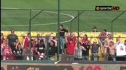 Радост за Цска след гола на Тони Силва