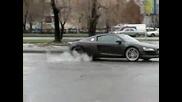 Audi R8 Burnout