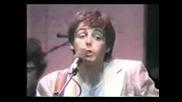 Paul Mccartney & Ringo Starr & Eric Clapton & Rockestra - Lucille - Live 79